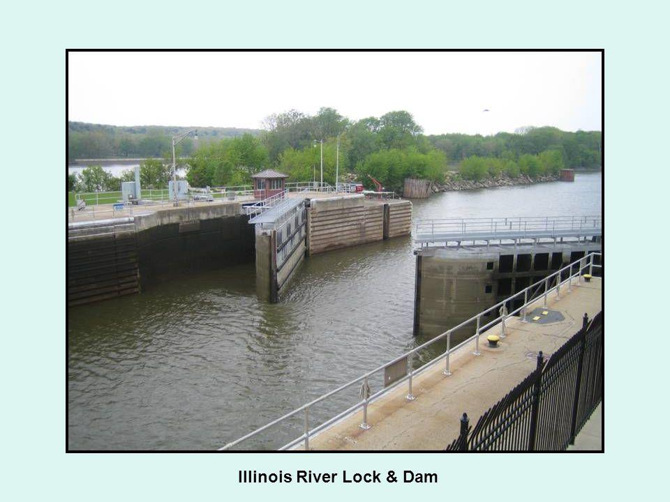 Illinois River Lock & Dam