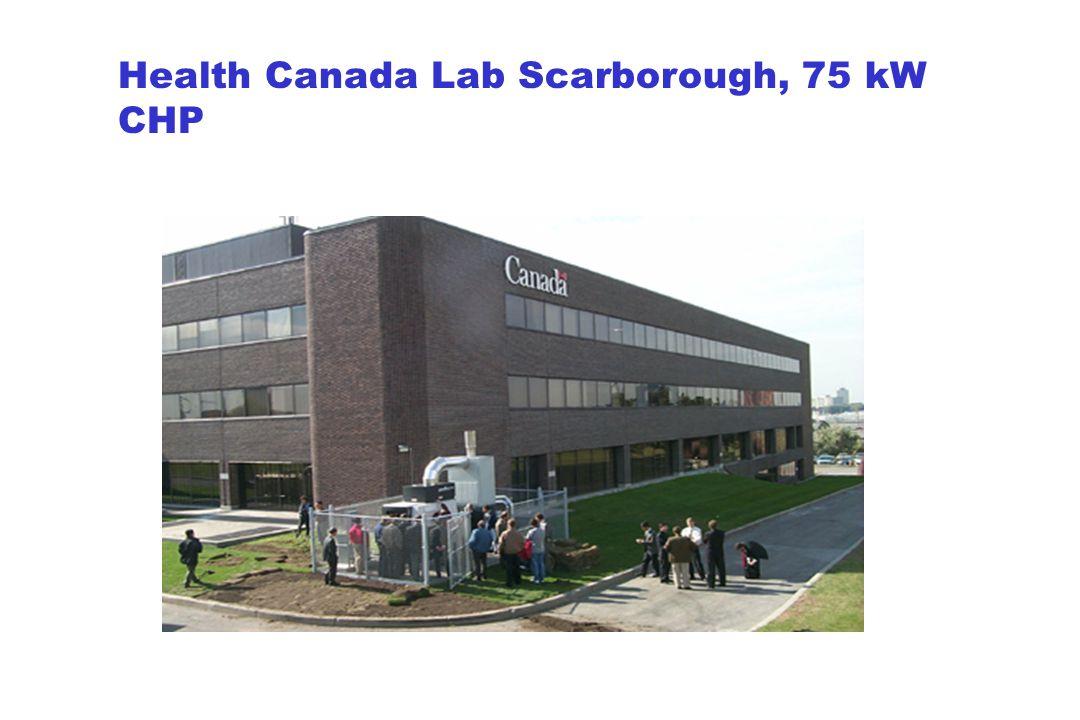 Health Canada Lab Scarborough, 75 kW CHP
