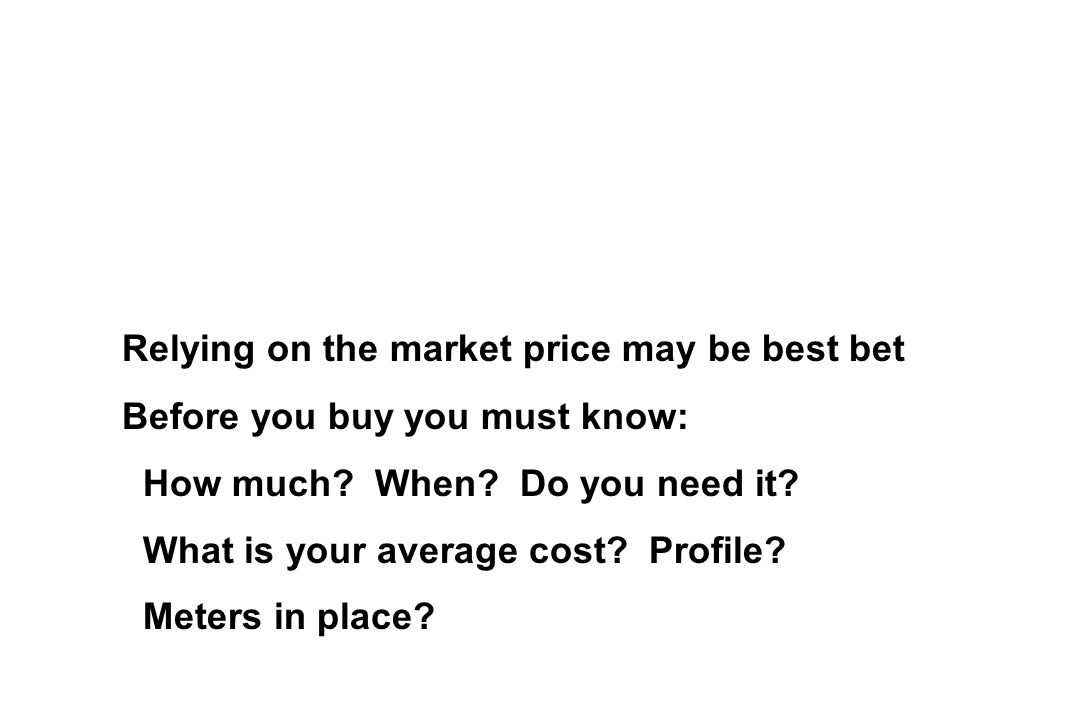 Relying on the market price may be best bet Before you buy you must know: How much.