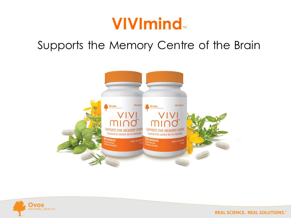 VIVImind ™ Supports the Memory Centre of the Brain
