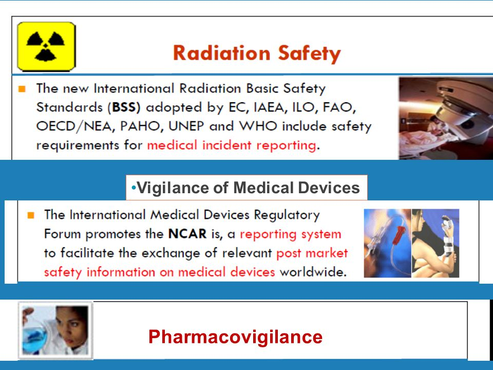Vigilance of Medical Devices Pharmacovigilance