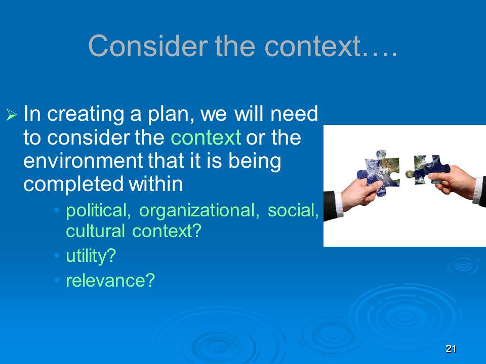 2121 Consider the context….