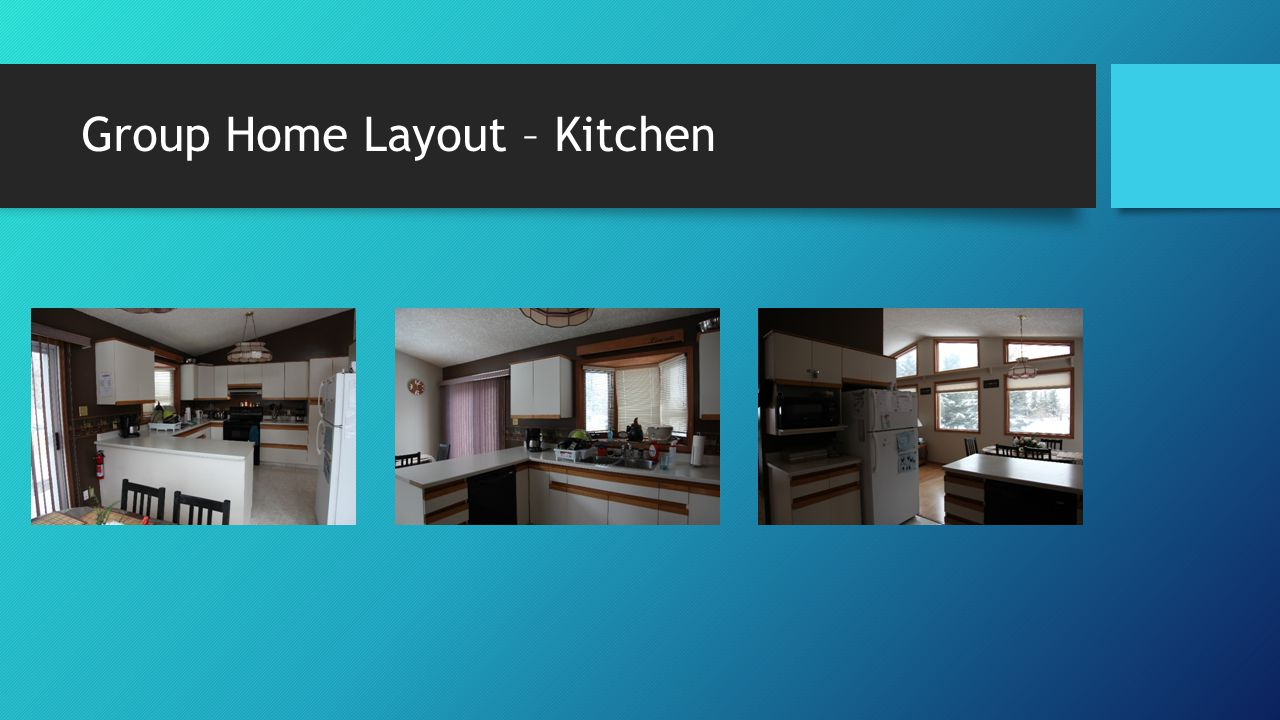 Group Home Layout – Kitchen