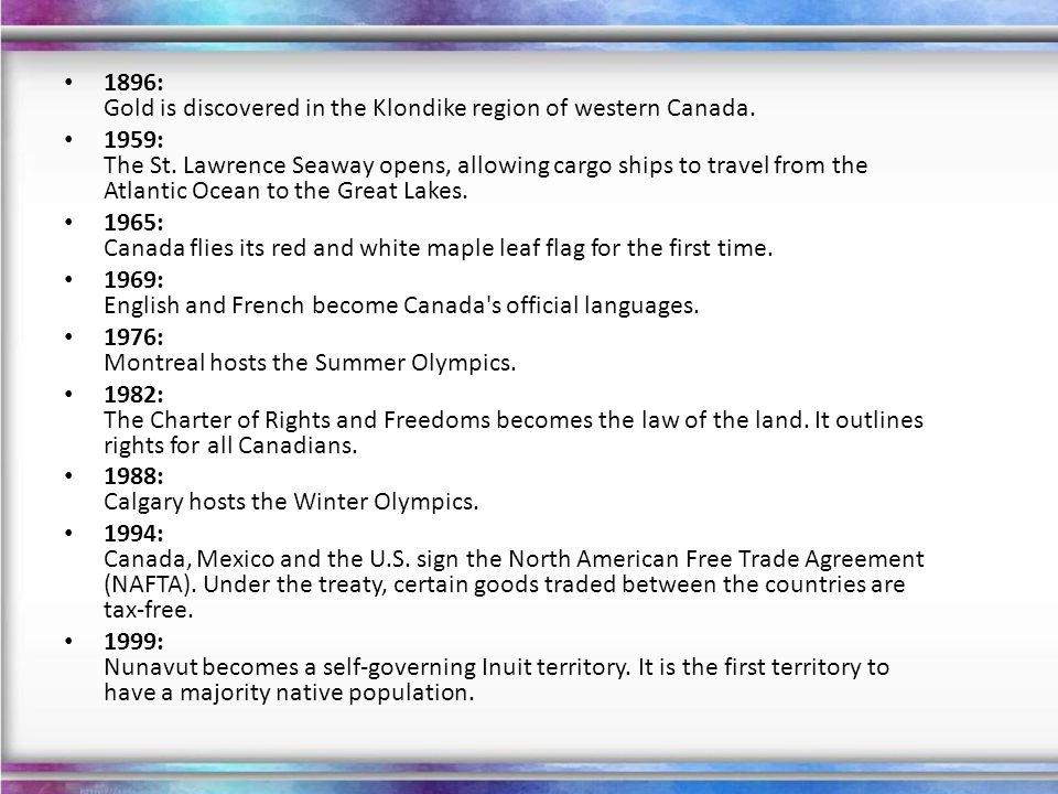 Political Structure Canada is a federation of ten provinces (Alberta, British Columbia, Manitoba, New Brunswick, Newfoundland and Labrador, Nova Scotia, Ontario, Prince Edward Island, Quebec, and Saskatchewan) and three territories (Northwest Territories, Yukon, and Nunavut).