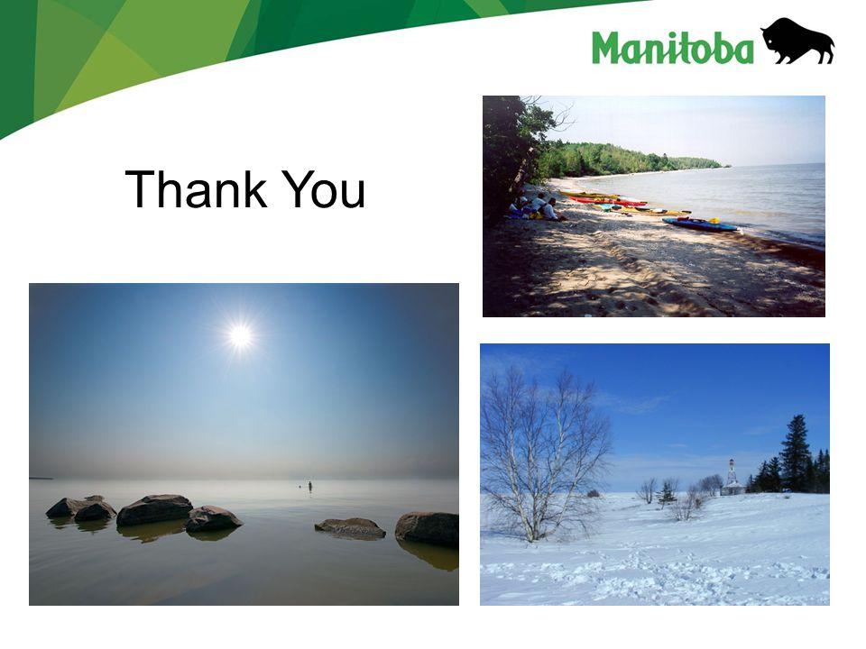 Manitoba Water Stewardship Manitoba Water Stewardship - Lake Winnipeg Thank You