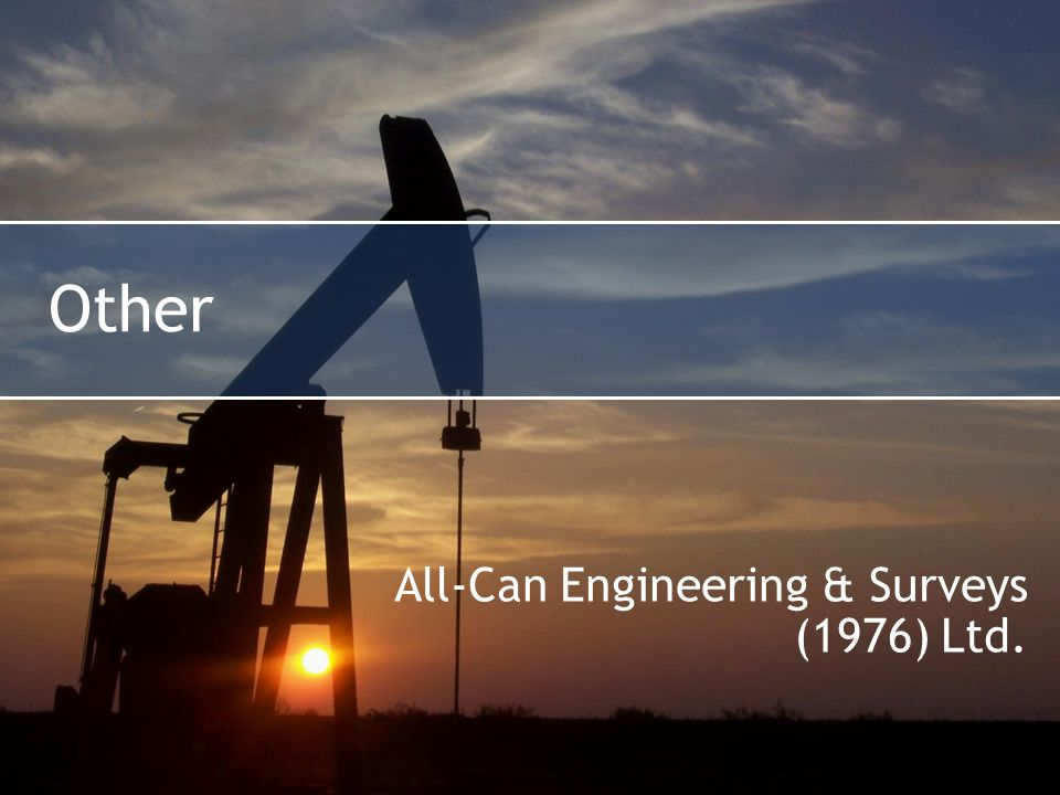 Other All-Can Engineering & Surveys (1976) Ltd.