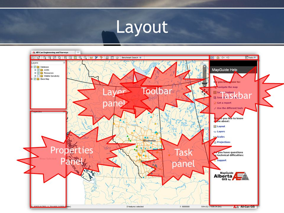 Other Tools Load Map Benchmark Map – ASCM Urban – ASCM Urban (with labels) Default Map NEW