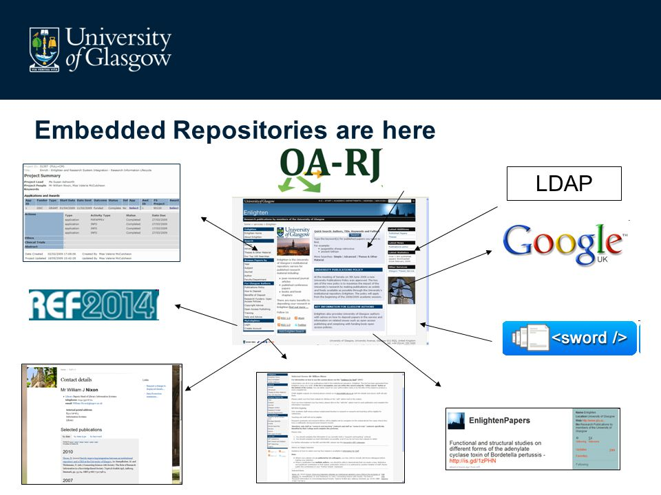 LDAP Embedded Repositories are here