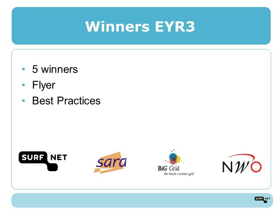 Winners EYR3 5 winners Flyer Best Practices
