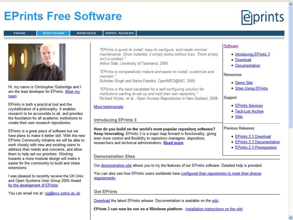 EPrints Website