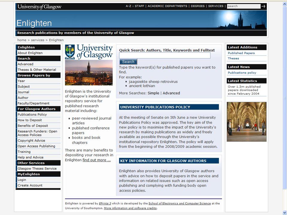 Enlighten Home Page