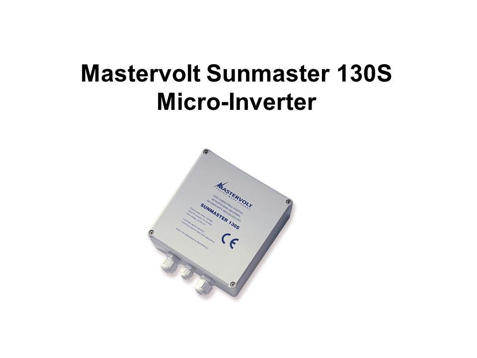 Mastervolt Sunmaster 130S Micro-Inverter
