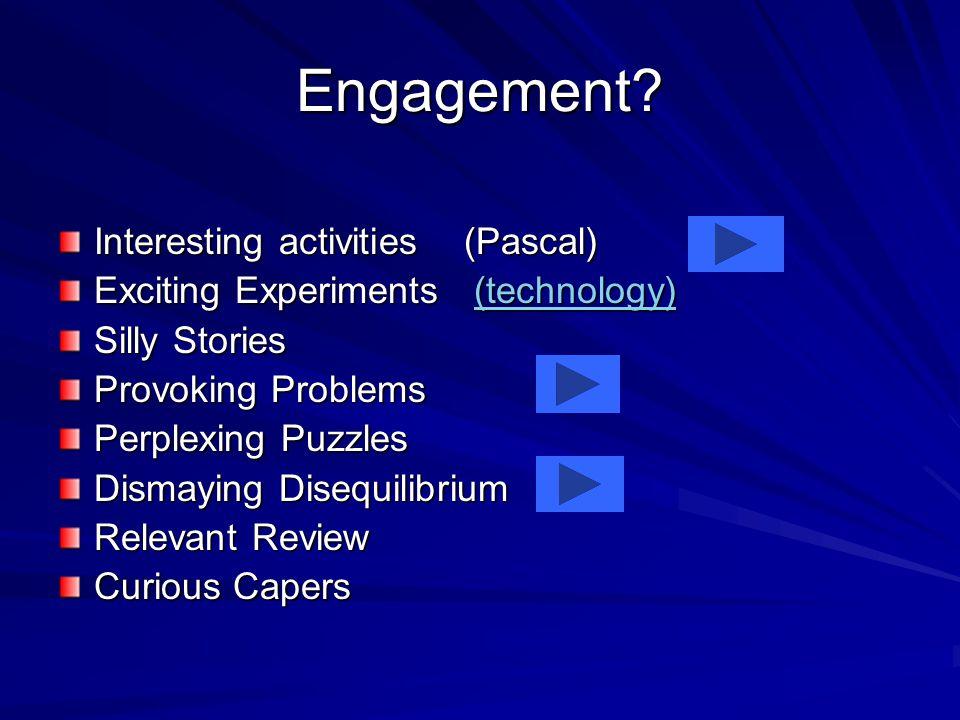 Engagement.