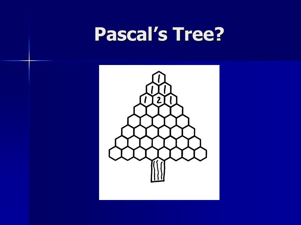 Pascal's Tree?