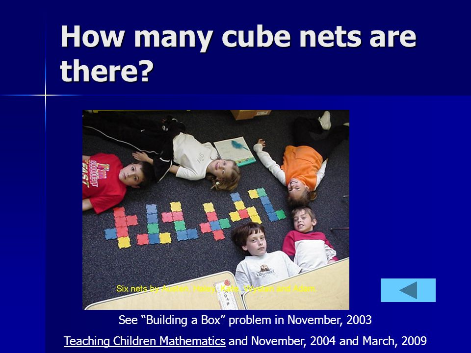 How many cube nets are there.