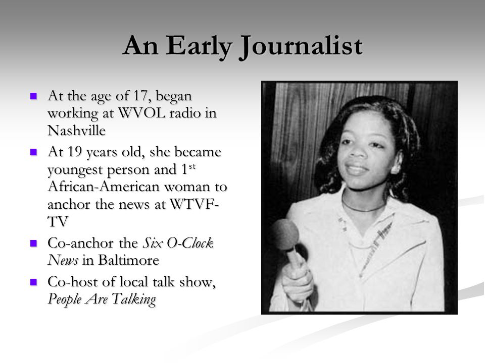 The Rise of the Oprah Winfrey Show In 1984, moved to Chicago to host WLS-TV's morning show, A.M.