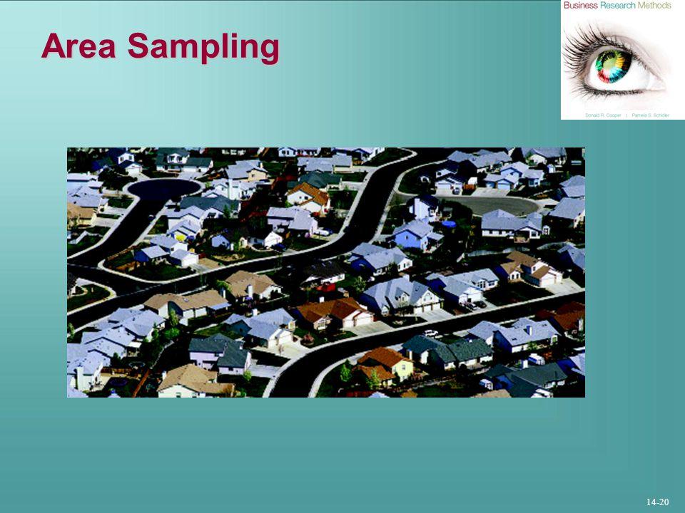 14-20 Area Sampling