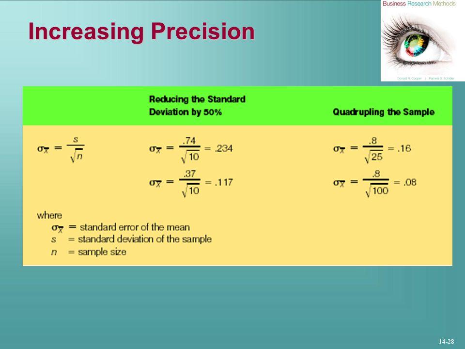 14-28 Increasing Precision