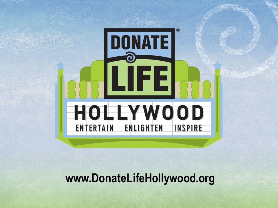 www.DonateLifeHollywood.org