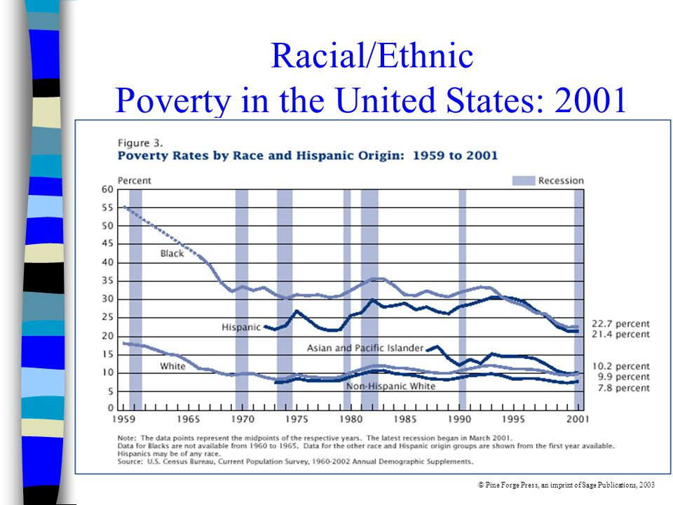 Racial/Ethnic Poverty in the United States: 2001 © Pine Forge Press, an imprint of Sage Publications, 2003