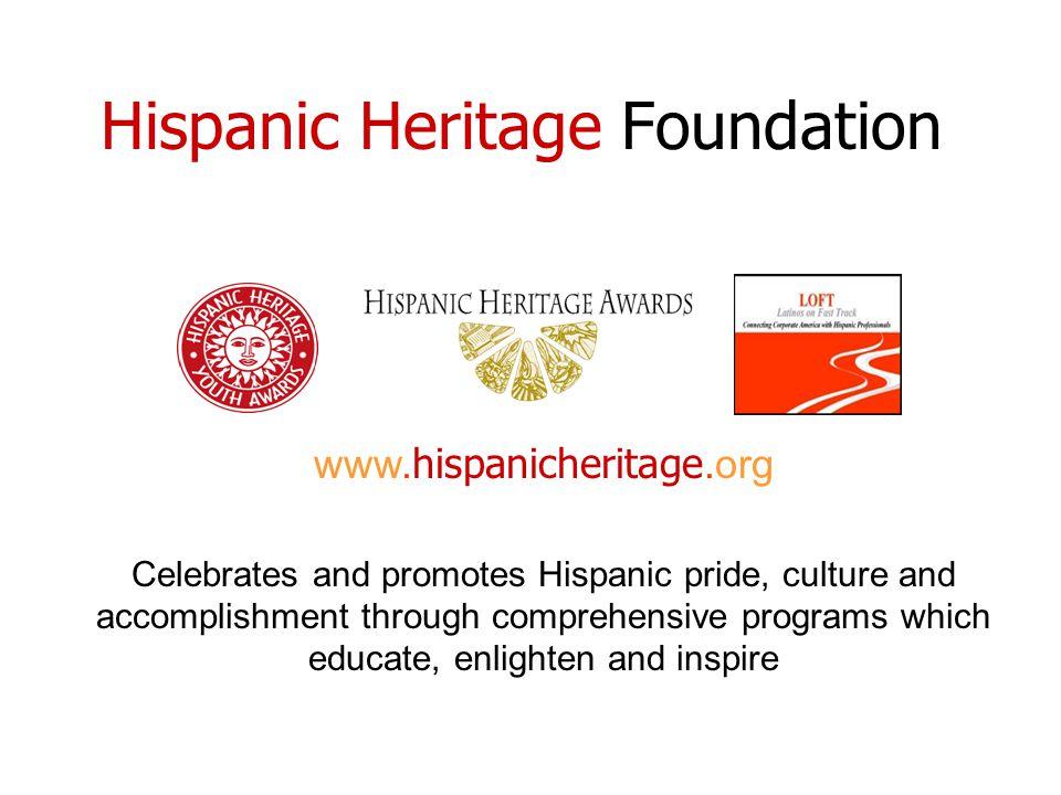 Hispanic Heritage Foundation www.