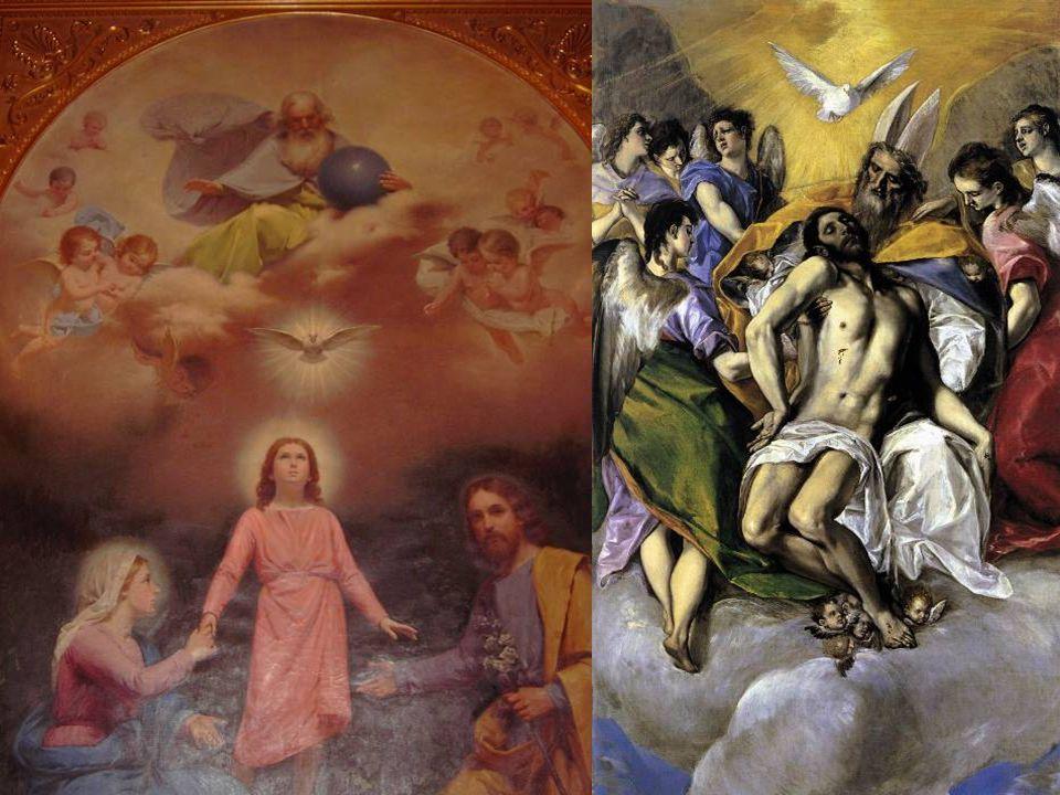 22 Trinity from Mission Santa Clara & by El Greco