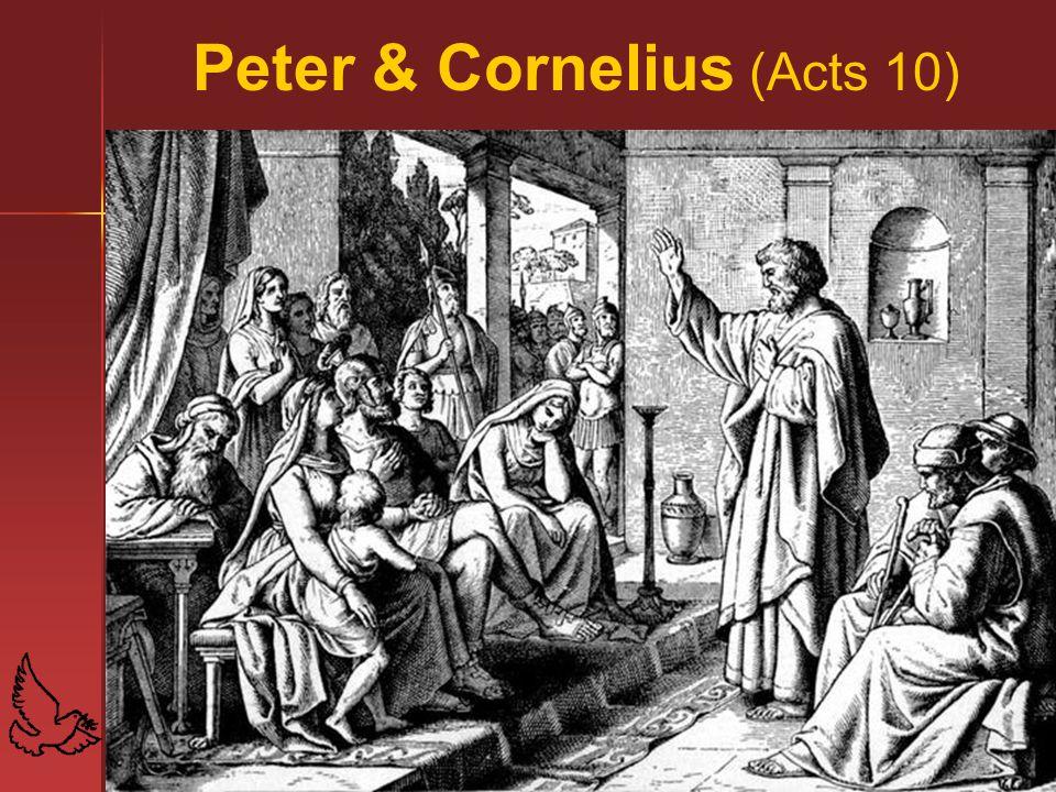 52 Peter & Cornelius (Acts 10)