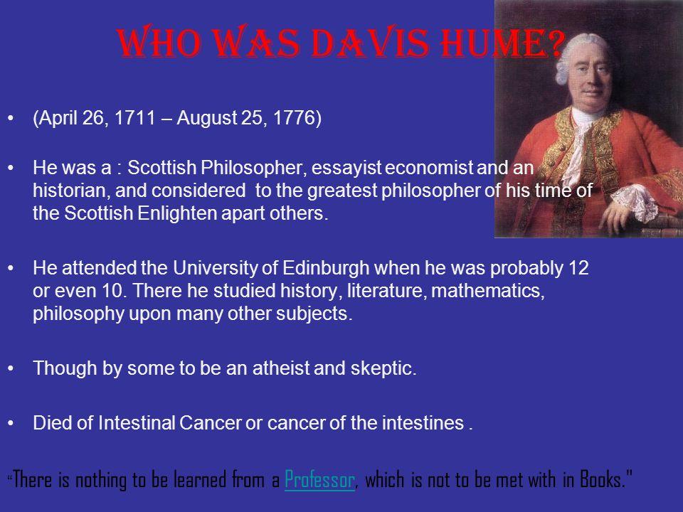 Who was Davis Hume.