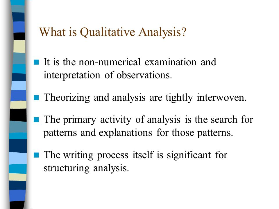What are Qualitative Data.