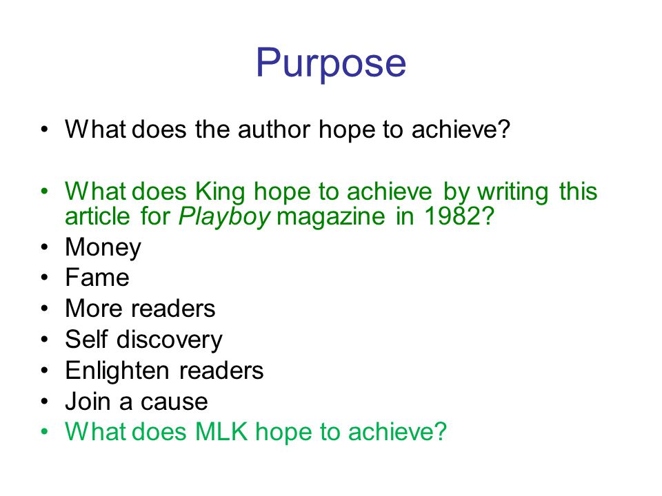 Audience Who is the audience for this argument.Who are the readers of Playboy in 1982.