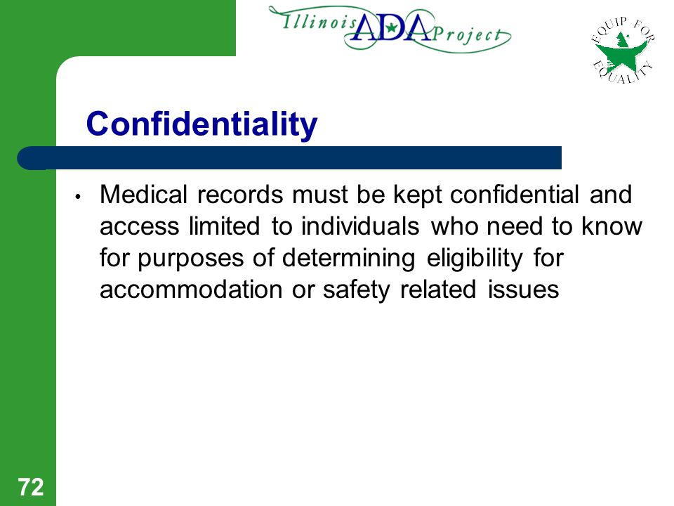 71 Documentation may be provided to one central office (i.e.