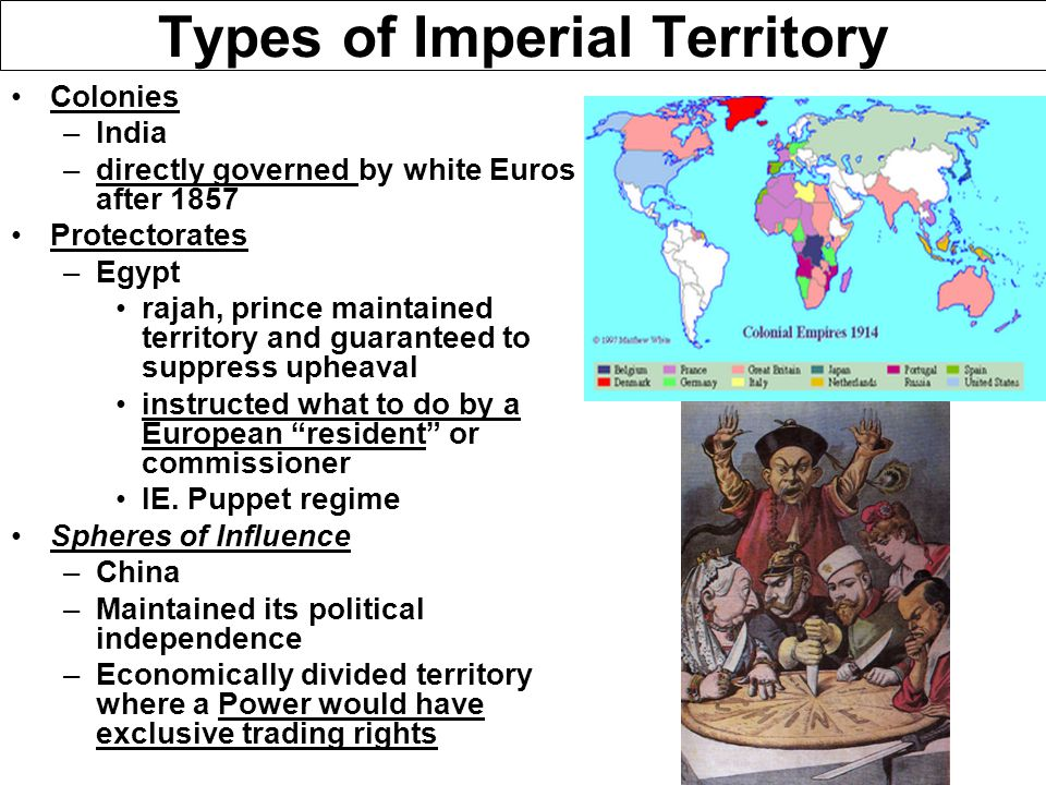 Marxist Critique of Imperialism Vladimir Lenin –Imperialism, the Highest Stage of Capitalism (1916) –Claimed that imperialism was the natural final stage of capitalism –Developed industrial nations attempt to delay the inevitable proletariat revolution by exploiting less developed nations for their resources and labor –Predicted that communist revolution would begin in less developed (agrarian-based) nations and spread to the urban proletariat in developed nations J.A.