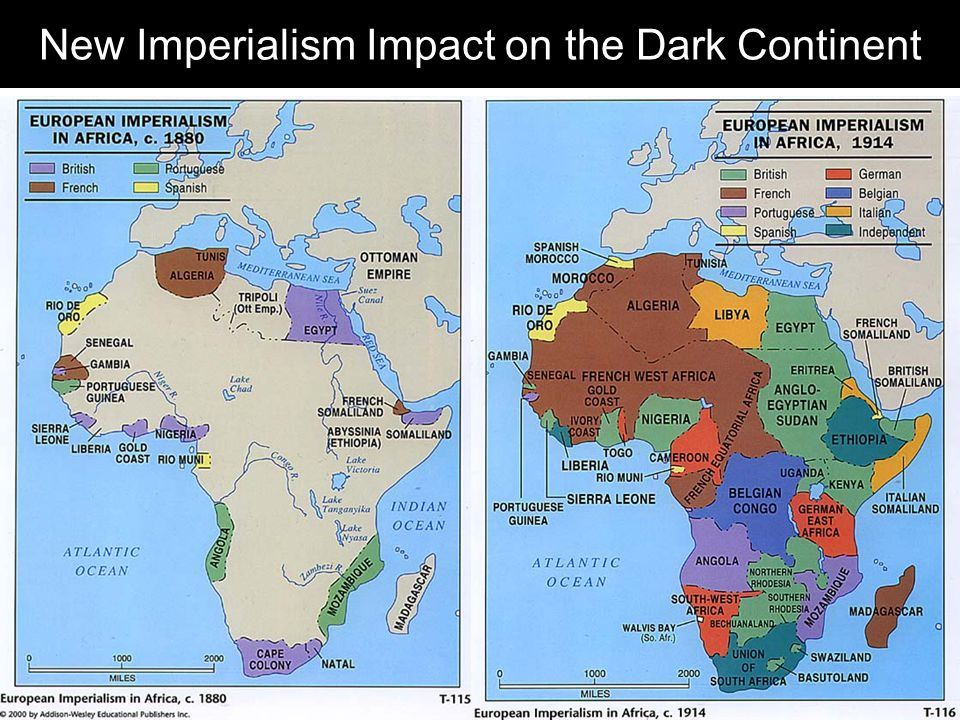 New Imperialism Impact on the Dark Continent