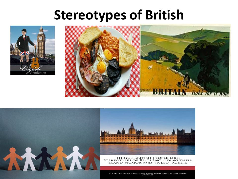 Stereotypes of British