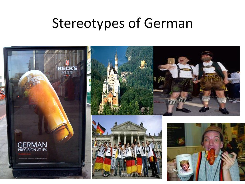 Stereotypes of German