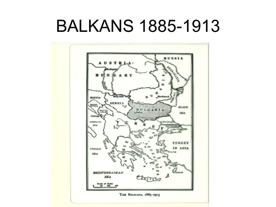 BALKANS 1885-1913