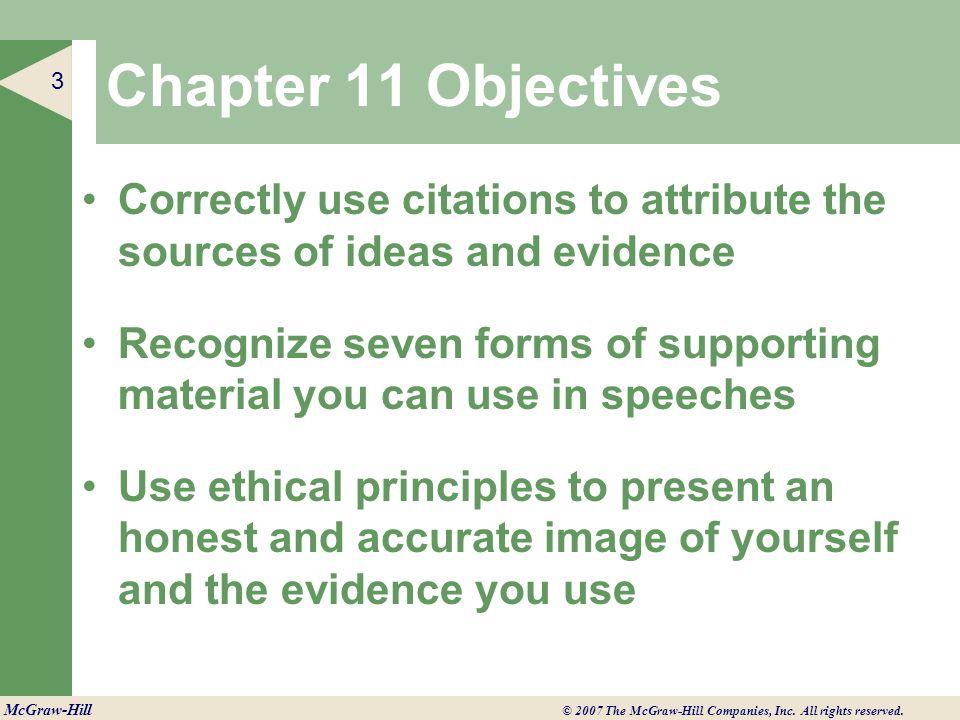 C H A P T E R ◄ 3 McGraw-Hill © 2007 The McGraw-Hill Companies, Inc.