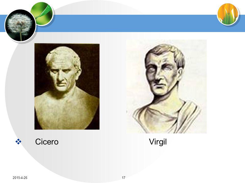  Cicero Virgil 2015-4-2617
