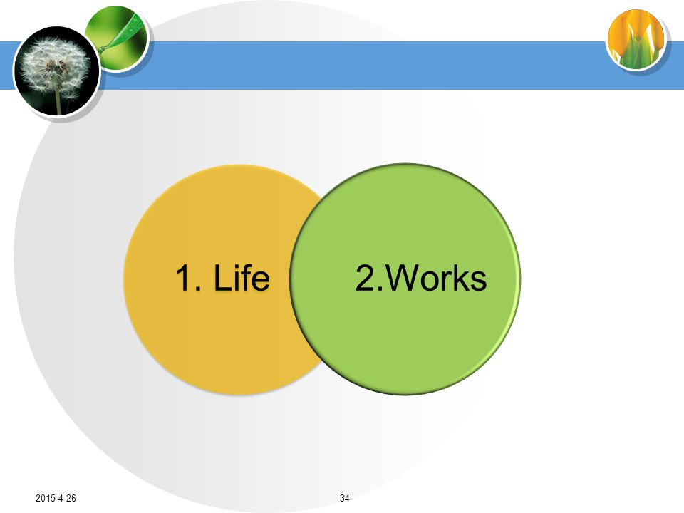 1. Life2.Works 2015-4-2634