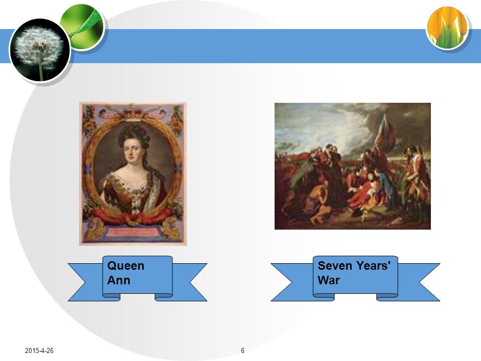 Queen Ann Seven Years' War 2015-4-266