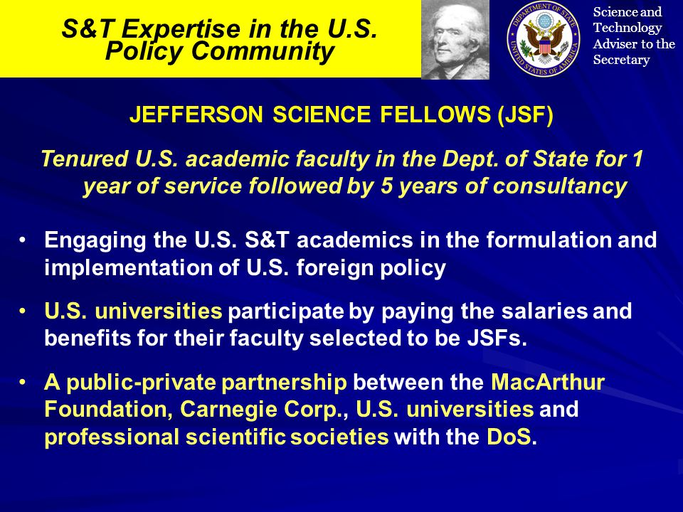 S&T Expertise in the U.S.