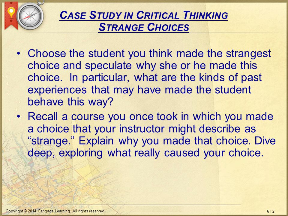 6   3 Copyright © 2014 Cengage Learning.All rights reserved.