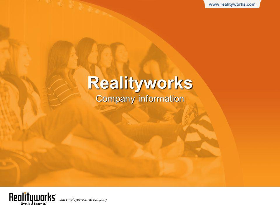 www.realityworks.com Realityworks Company information