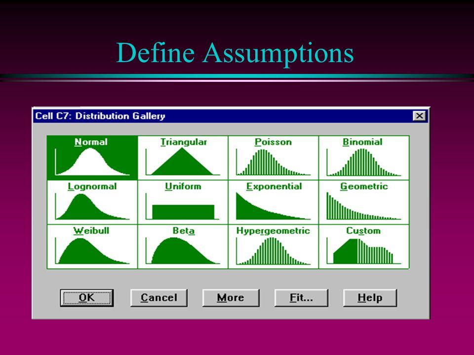 Define Assumptions