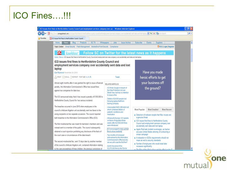 ICO Fines….!!!
