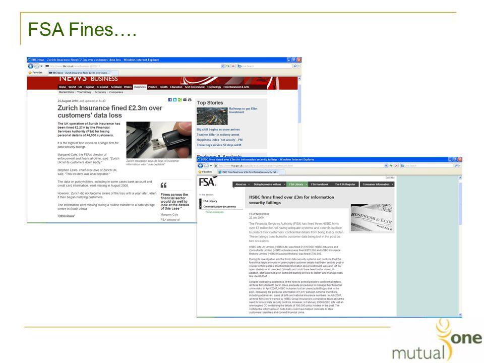 FSA Fines….