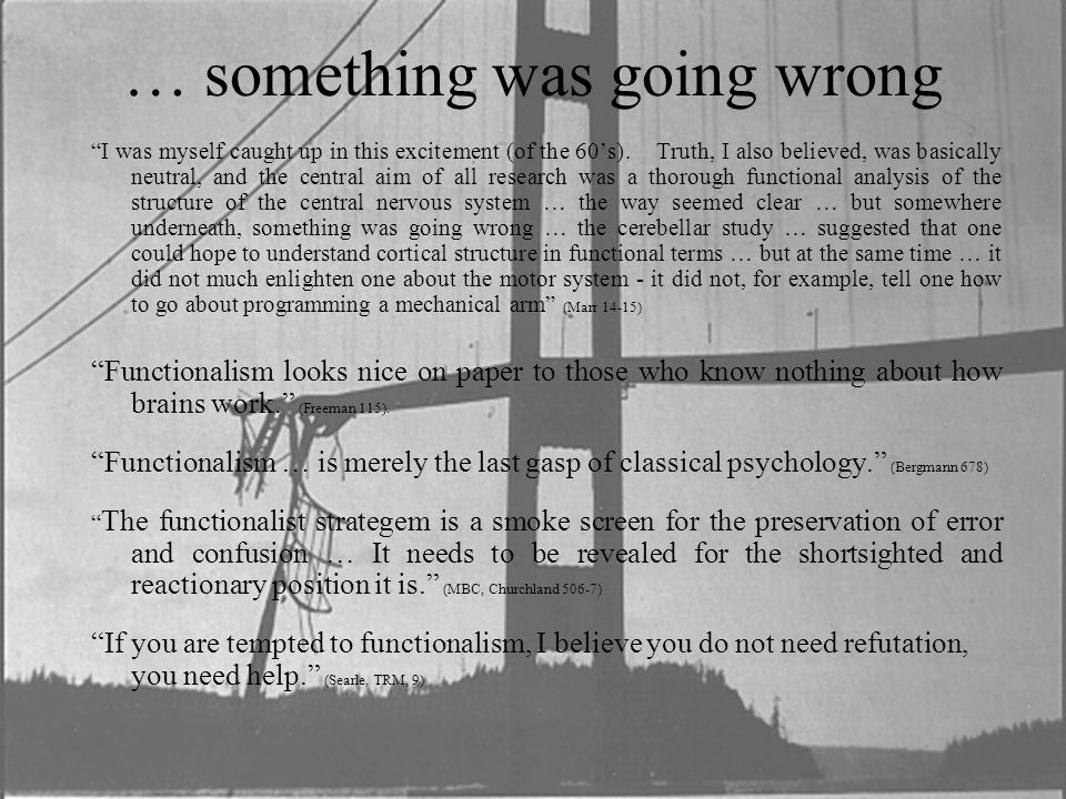 """… something was going wrong """"I was myself caught up in this excitement (of the 60's). Truth, I also believed, was basically neutral, and the central a"""