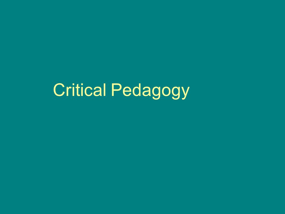 Dialectical theory Searches out contradictions e.g.children from generation poverty (Beegle, 2003) who face difficulties in school and a system that aspires to help all students to attain full potential Reflects on all elements of social actions: part and whole; subject and object; process and product; rhetoric and reality e.g.
