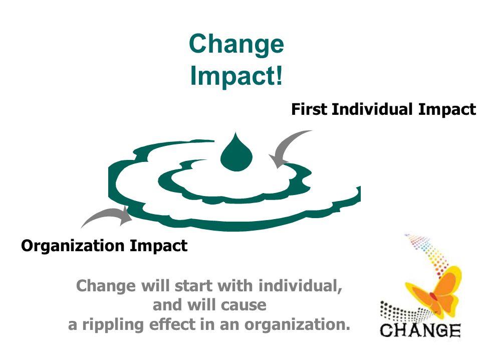 Change Impact.