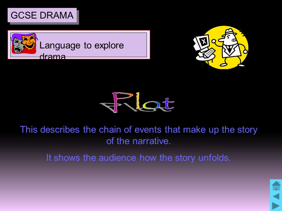 31 This describes the chain of events that make up the story of the narrative.